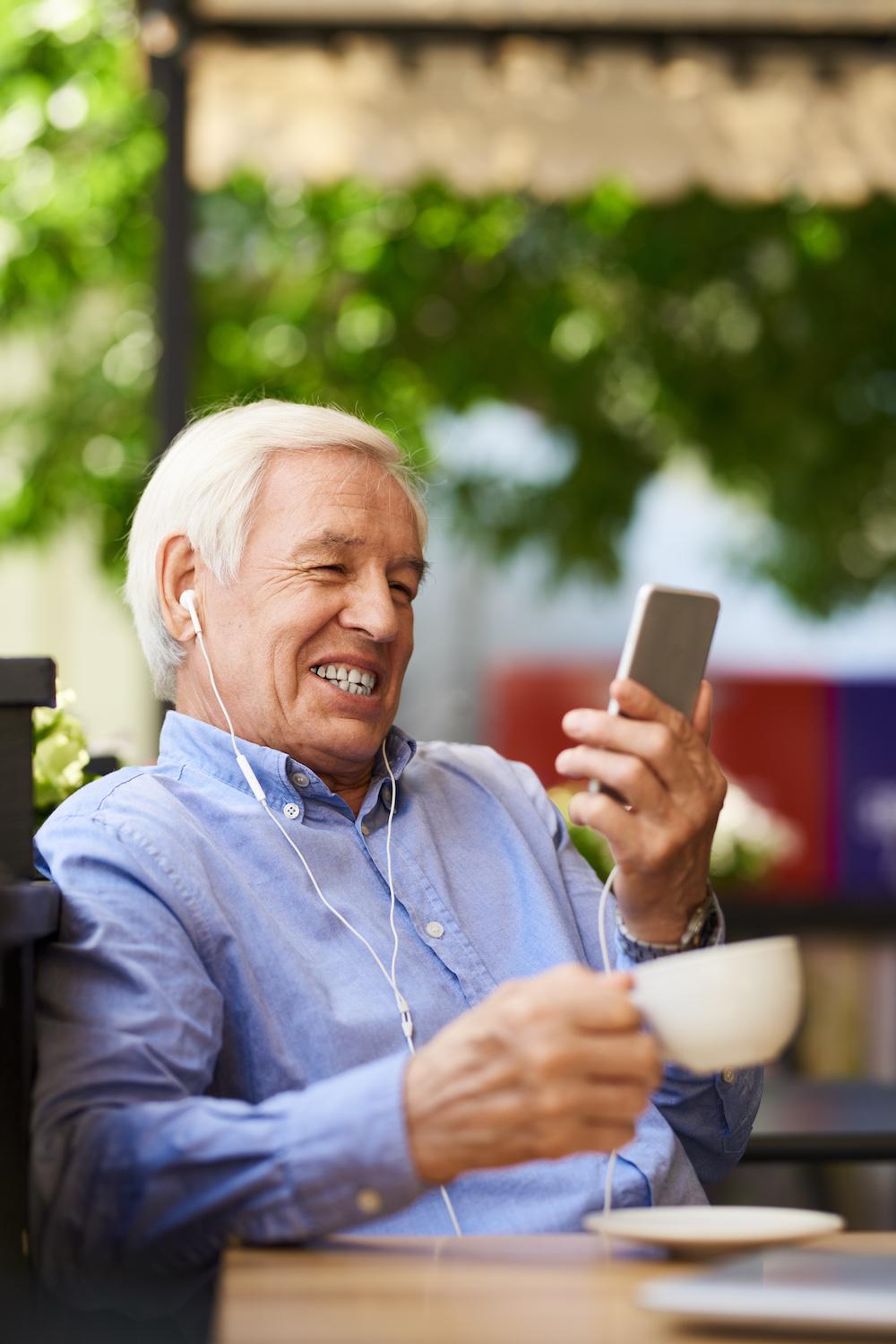 grandpa video calling